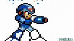 Paint-Megaman x-16 bit-PsXLife