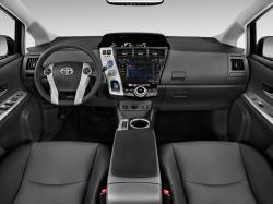2012 Toyota Prius V Two Wagon Cockpit