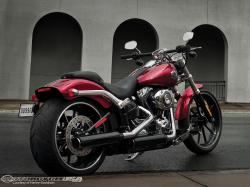 Harley broke wraps on its latest Softail the 2013 Breakout in conjunction with the start of