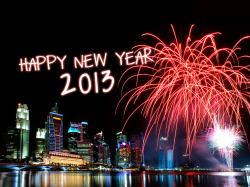 Happy New Year 2013 MakeMeNoise