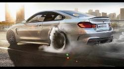2014 BMW M4 F82 LAYING DOWN SOME RUBBER