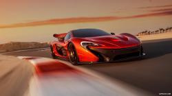 2014 McLaren P1 - Front Wallpaper