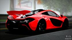 McLaren P1 2014 for GTA San Andreas left view