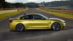 2015 BMW M4 Coupe - Side Wallpaper