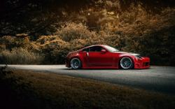 Nissan 350z Red Car
