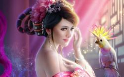 ... 3D-fantasy-girl-wallpaper