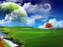 3D Nature Hd Background Wallpaper 23 Thumb