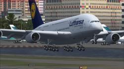 FSX - Lufthansa - Airbus A380-800