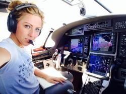Amelia Rose Earhart Intends to Finish Doomed 1937 Flight of Amelia Earhart, Inspire Girls to Fly