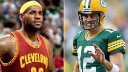 LeBron says 'RELAX,' quoting 'the great' Aaron Rodgers