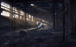 Abandoned Factory Wallpaper