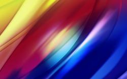 Abstract colorful pixelated curves