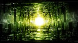 Green abstract wallpaper HQ WALLPAPER - (#9997)