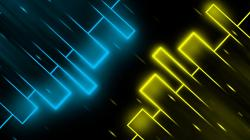 Blue Yellow Abstract Wallpapers