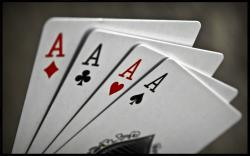 cards poker ace playing aces