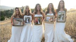 Walitsch Sisters Holding wedding portraits