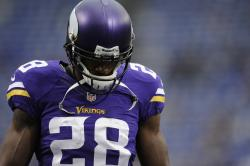 Adrian Peterson's 2-year-old son was allegedly beaten to death this week. Photo: Getty Images