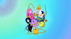 Adventure time wallpaper version 2 by kawaii-panic