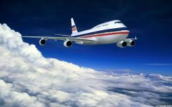 Aeroplane In Sky Wallpaper