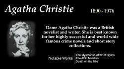 Agatha Christie - Top 10 Quotes