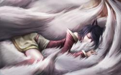 Ahri art league of legends