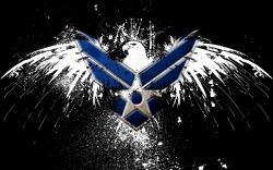 HD Wallpaper of Free Hd Wallpaper Air Force Logo, Desktop Wallpaper Free Hd Wallpaper Air