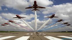 British Air Force Aerobatics Team HD wallpapers