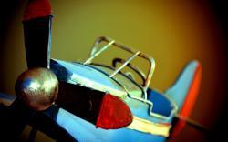 Toy Airplane Model Photo