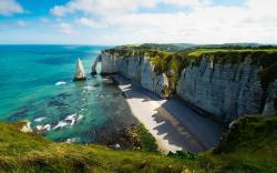 The Alabaster Coast, France [1920x1200] ...
