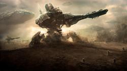 Alien Invasion Wallpaper