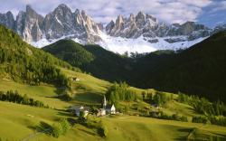 The Italian Alps Wallpaper