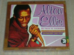 ALTON ELLIS be true to yourself anthology 1965-73 2 CD