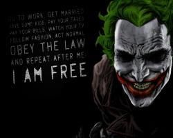 joker i am free 500x400 joker i am free