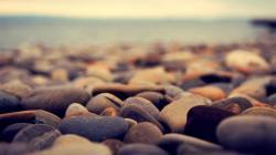 Beautiful Beach Rocks