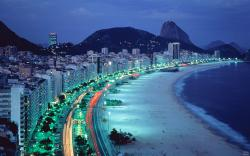 Amazing Night city in Brazil