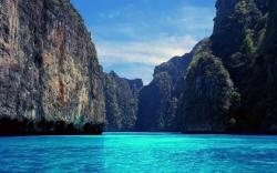 BLUE RIVER Scenery Desktop wallpapers. 1680x1050