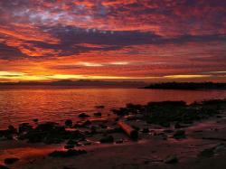 Beautiful Sunset Wallpaper: Wallpapers for Gt Beautiful Sunset Landscape 1600x1200px