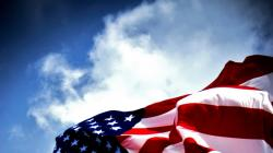 American Flag Wallpaper and The Sky