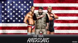 WWE The Real Americans Theme Song - Patriot 2014 HD