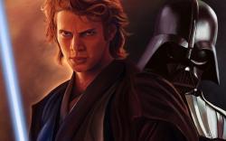 Star wars, hayden christensen, anakin skywalker, dart veider, lightsaber