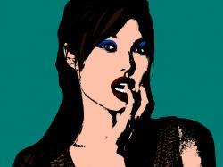 Angelina Jolie (Andy Warhol Pop Art Style) by angel-jolie ...