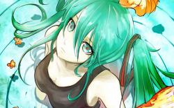 Anime Girl Look Art