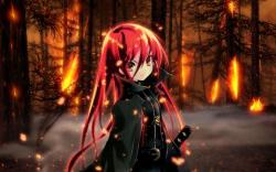 Anime Girl Shana