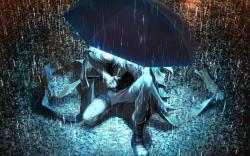 Anime Guy Umbrella