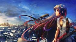 Beautiful Anime Music Wallpaper