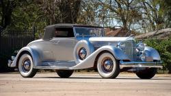 silver-antique-car