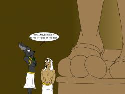 Anubis Statue by Devildukitzu ...