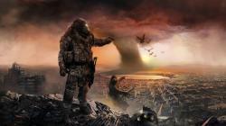 apocalypse fantasy art wallpaper background