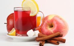 Apple Cinnamon Tea Wallpaper in 1920x1200 Widescreen