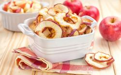 Apples Dried Cut Into Rings Fruit